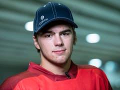 Nico Hischier ist WM-Debütant und gleichzeitig bereits grosser Schweizer Hoffnungsträger (Bild: KEYSTONE/PATRICK HUERLIMANN)