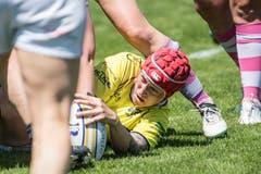 Rugby Frauen: Dangels Luzern - Zürich Valkyries. (Bild: Nadia Schärli, Luzern, 1. Juni 2019)