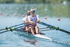 Ruder Europameisterschaft auf dem Rotsee: Impressionen während der Halbfinals am Samstag. (Bild: Pius Amrein, Luzern, 1. Juni 2019)