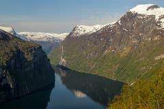 Geiranger Fjord.