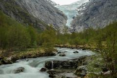 Der Briksdal-Gletscher