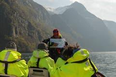 Auf Fjord-Safari.