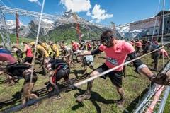 Impressionen von der 10. Austragung des Fisherman's Friend Strongman-Run in Engelberg. (Bild: Roger Grütter, Engelberg, 1. Juni 2019)