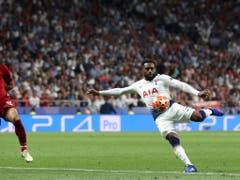Nur selten kam Tottenham so dynamisch zum Abschluss wie hier Danny Rose (Bild: KEYSTONE/AP/FRANCISCO SECO)