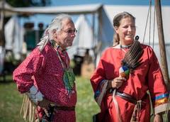 Indianer und Cowboys leben im Hobbyisten-Camp friedlich beeinander. (Bild: Reto Martin)