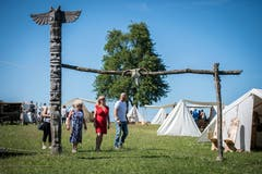 Der schmucke Eingang zum Hobbyisten-Lager. (Bild: Reto Martin)