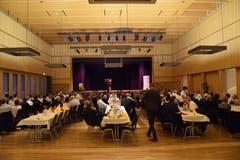 Voller Saal: Knapp 300 Gäste feierten mit dem SP-Politiker.