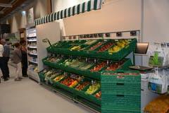 Das aktuelle Früchte- und Gemüsesortiment. (Bild: Beat Lanzendorfer)