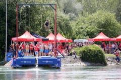 Sport an der Aare. (Bild: Marc Schumacher/freshfocus, Aarau, 15. Juni 2019)