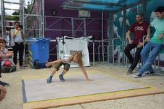 Der 9-jährige Marlo setzte sich als Breakdancer in Szene.