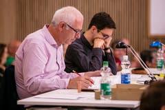 Die Juroren sind konzentriert bei der Arbeit. (Bild: Philipp Schmidli, Hitzkirch, 16. Juni 2019)