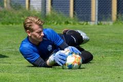 Torhüter Simon Enzler ist zurück beim FC Luzern. (Bild: Martin Meienberger / Freshfocus, Luzern, 17. Juni 2019)