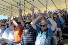 Gute Stimmung bei den Zuschauern. (Bild: Eveline Beerkircher, Willisau, 2. Juni 2019)