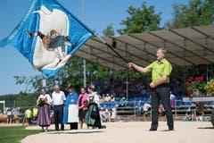 Impressionen des Festaktes. (Bild: Eveline Beerkircher, Willisau, 2. Juni 2019)