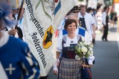 Hier der Innerschweizerische Jodlerverband. (Bild: Boris Bürgisser, Horw, 28.06.2019)