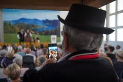 Impressionen vom Jodlerfest. (Bild: Dominik Wunderli, Horw, 29. Juni 2019)
