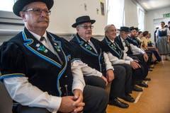 Beim Auftritt des Jodlerklubs Heimelig aus Baar. (Bild: Dominik Wunderli, Horw, 29. Juni 2019).
