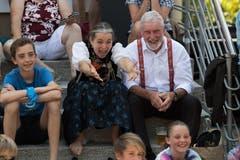 Besucher am Festumzug in Horw. (Bild: Boris Bürgisser)