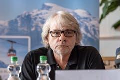 Der Obwaldner Staatsanwalt Bernhard Schöni während der Medienkonferenz im Hotel Terrace in Engelberg. (Bild: Urs Flüeler/Keystone, Engelberg, 5. Juni 2019)