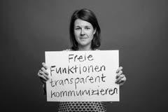 Evelyne Fischer, Stv. Leiterin Ressort Kanton Luzern