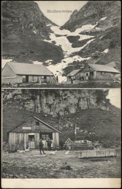 Die Alp Bollenwees, ohne Jahr. (Bild: Landesarchiv AI)