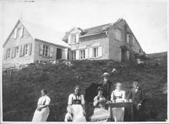 Das Berggasthaus Ebenalp in früheren Zeiten. (Bild: Landesarchiv AI)