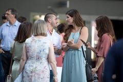 Abschlussfeier der Berufe Gewerbe, Industrie und Gesundheitswesen in der Bossard Arena. (Bild: Maria Schmid, Zug, 5. Juli 2019)