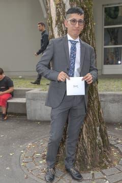Khalil Bagheri (Bild: Dani Lüthi, Sarnen, 6. Juli 2019)
