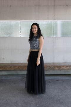 Célia Baumann (Bild: Matthias Jurt, Berufsbildungszentrum Goldau, 5. Juli 2019)