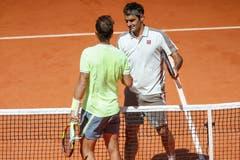 2019: Halbfinal French Open: Nadal s. Federer 6:3, 6:4, 6:2Erstmals seit vier Jahren bestreitet Roger Federer die French Open. Und er erreicht die Halbfinals von Roland Garros, wo er bereits zum sechsten Mal auf Rafael Nadal trifft. Und auch zum sechsten Mal verliert. Die Bedingungen indes sind schwierig. Es ist kalt und windig. Federer sagt: «Das hatte nicht mehr viel mit Tennis zu tun. Es war ein bisschen wie wenn man als Kind im Sandkasten gespielt hat.» Zwei Tage darauf gewinnt Nadal bereits zum zwölften Mal in seiner Karriere die French Open.