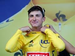 Giulio Ciccone - der überraschende neue Leader der Tour de France (Bild: KEYSTONE/AP/CHRISTOPHE ENA)