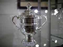 Oder der Silberpokal vom US-Open-Sieg 1989 (Bild: KEYSTONE/AP/MATT DUNHAM)
