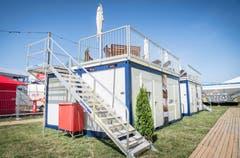 Die «White Mansion» wird für 12'800 Franken à 8 Personen verkauft. (Bild: Andrea Stalder)