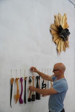 Künstler Rochus Lussi aus Stans. (Bild: Nique Nager, Havanna, Juni 2019)