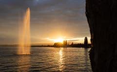 Ein herrlicher Sonnenuntergang – aufgenommen am Zugersee. (Bild: Daniel Hegglin, Zug, 11. Juli 2019)