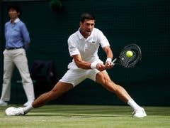 Im Final wartet auf Roger Federer Novak Djokovic (Bild: KEYSTONE/AP POOL Reuters/CARL RECINE)