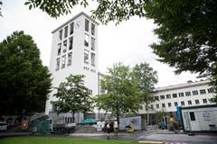 Das reformierte Kirchenzentrum der Lukaskirche wird umfassend saniert. (Bild: Manuela Jans-Koch, Luzern, 11. Juli 2019)