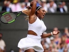 Serena Williams muss weiter auf ihren 24. Grand-Slam-Titel warten (Bild: KEYSTONE/EPA Getty Images Europe POOL/LAURENCE GRIFFITHS / POOL)