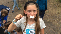 Mmmmmh, Marshmellows! (Lagerbild: Sommerlager Stadt Kriens, 12. Juli 2019)
