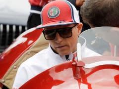 Kimi Räikkönen wurde Achter und bescherte dem Team Alfa Romeo vier weitere WM-Punkte (Bild: KEYSTONE/AP/LUCA BRUNO)