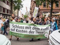 Bilder vom grenzüberschreitenden Animal Pride Day Kreuzlingen-Konstanz. (Bild: Hanspeter Schiess)