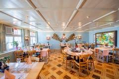 Der Speisesaal. (Bild: Urs Bucher)