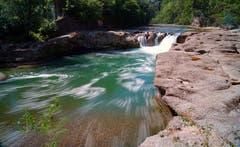 Wasserfall der Thur bei Brübach. (Bild: Thomas Ammann)