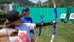 Im kantonalen Sportlager Zug wird scharf geschossen. Lagerbild: Kantonales Sportlager Zug (Tenero, 15. Juli 2019)