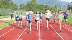 «Endspurt» im kantonalen Sportlager Zug, wo heute der letzte Lagertag stattfindet. (Lagerbild: Kantonales Sportlager Zug, Tenero, 19. Juli 2019)