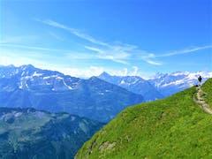 Herrliches Wanderwetter auf der Melchsee-Frutt. (Bild: Urs Gutfleisch, 19. Juli 2019)