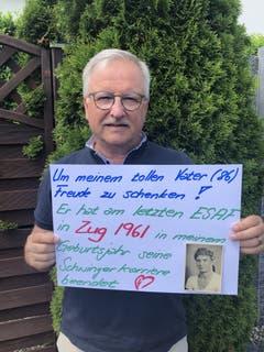 Walter Kälin, Cham.