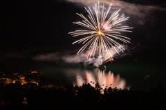 Feuerwerk Sommernachtsfest Oberägeri (Bild: Daniel Hegglin, Oberägeri, 20. Juli 2019)