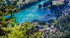 Wunderschöne Aussicht oberhalb von Amden auf den Walensee. (Bild: Renato Maciariello)