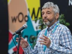 Das 44. Paléo in Nyon war ein Festival der Extreme: Der langjährige Festivalpräsident Daniel Rossellat zog am Sonntag Bilanz. (Bild: KEYSTONE/MARTIAL TREZZINI)
